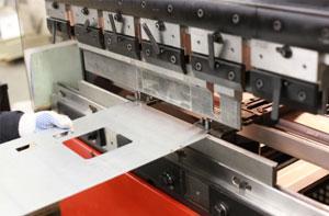 Custom Metal Stamping Services with Sheet Metal Bending Machine