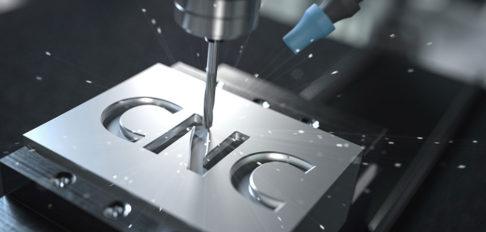 Precision CNC machining example