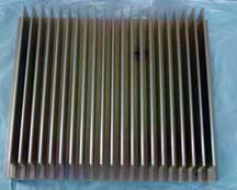 "20"" extruded aluminum heat sink"