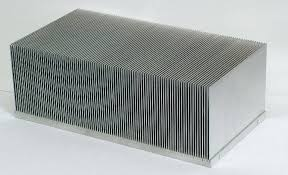 Bonded fin heat sink design