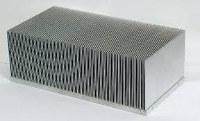 Bonded fin heat sink design