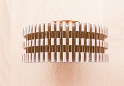 Folded Fin Heat Sink Design