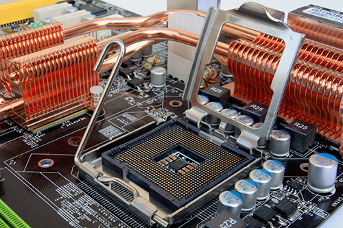 High performance heat sink design for processor