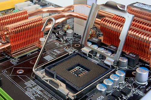 High performance heat sink design for processor