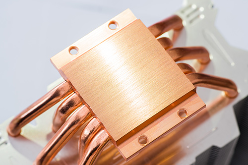 Progressive stamping heat sink design