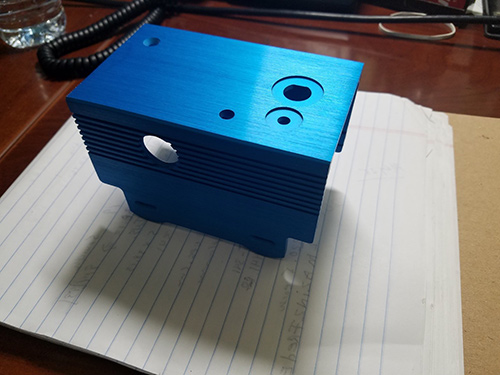 Extruded aluminum housing