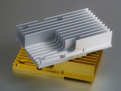 Passive extruded heat sink design