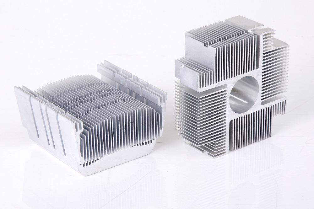 Impact extrusion heat sink design
