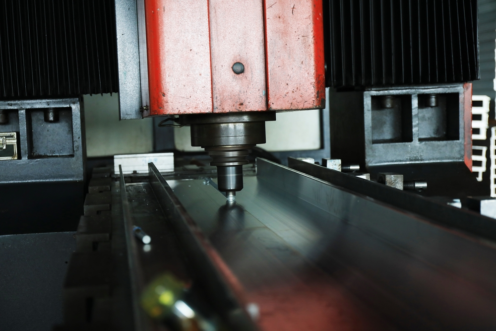 Friction stir welding used for a large heat sink design