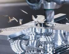 machined texture for heat sink design