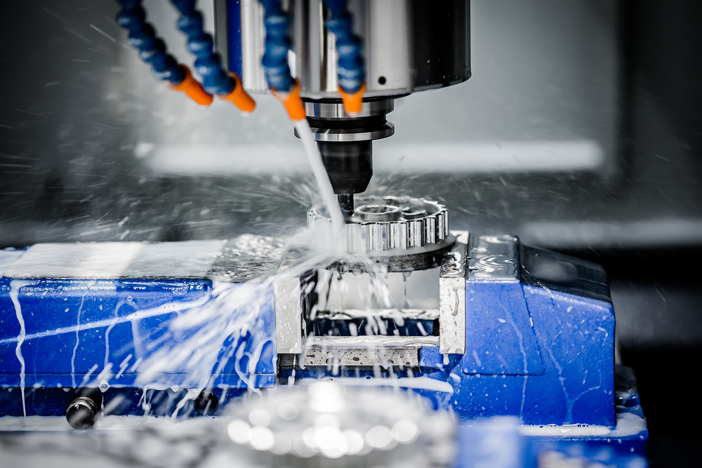 Precision CNC machining for aluminum in action