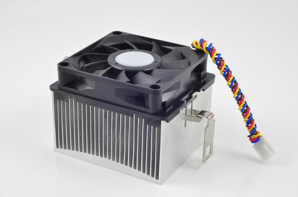 High efficiency heat sink design for a computer