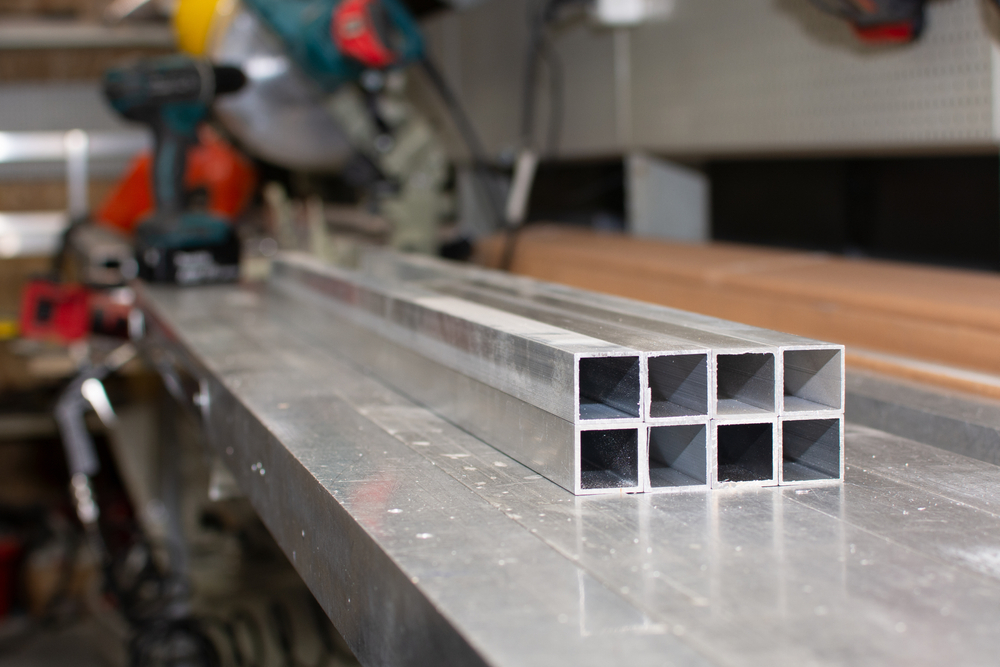 Aluminum extrusion profiles ready for shipment